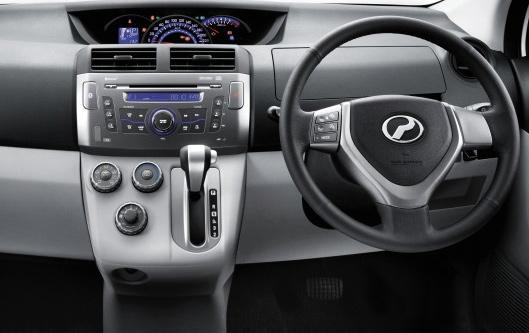 Panel Dashboard Installation Casing Kit for Perodua Alza