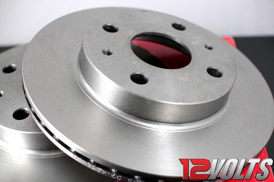 BREMBO Front Brake Discs for Perodua MYVI