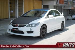 Honda Civic by 12V Member Shahril