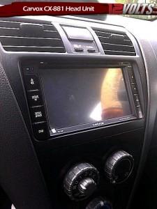 Toyota Vios J Spec Carvox CX-881 HD LCD Touchscreen DVD CD MP3