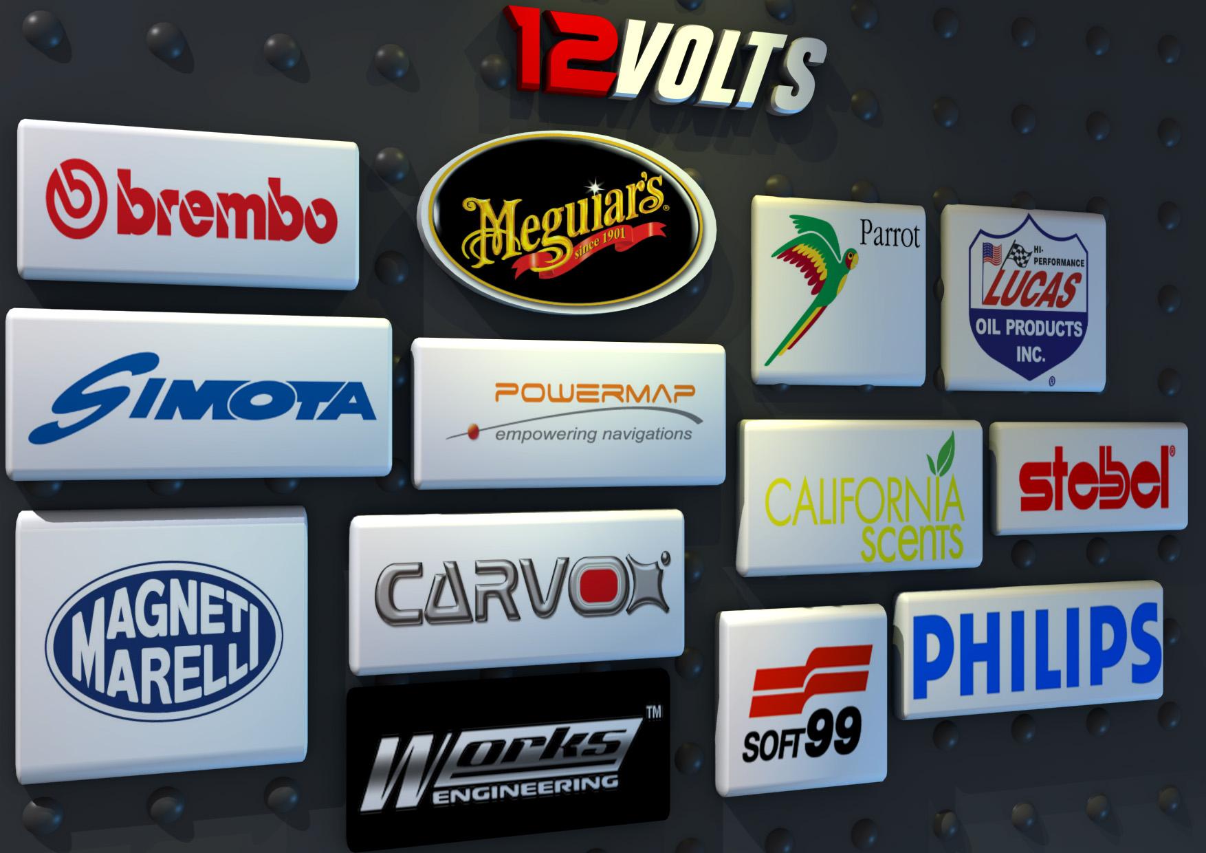 Brands on 12V