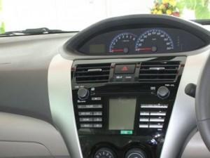 Dashboard Installation Kit (Car Audio Player Installation Kit) for Toyota VIOS G Spec, Piano Black