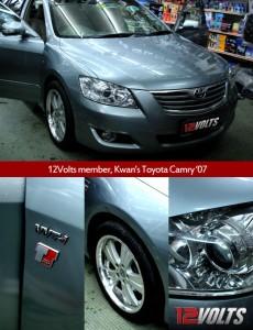 12Volts Toyota Camry Carvox OEM Head Unit CM-CAMRY Reverse Camera