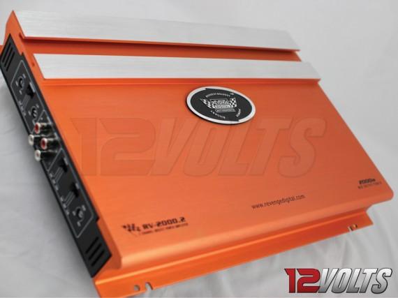 Revenge Digital 2 Channel High Power Amplifier Interface Close-Up 1
