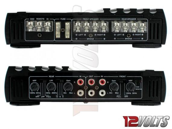 Revenge Digital 4 Channel Amplifier Interface