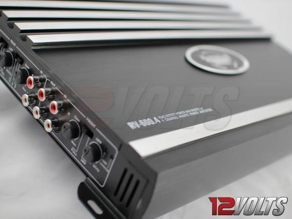 Revenge Digital 4 Channel Amplifier Close-up 2