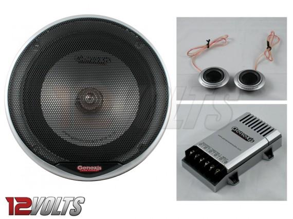 "GENEXIS 6.5"" Component Speaker Set"