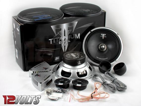 """Titanium Digital 6.5"""" Component Speaker Set"""