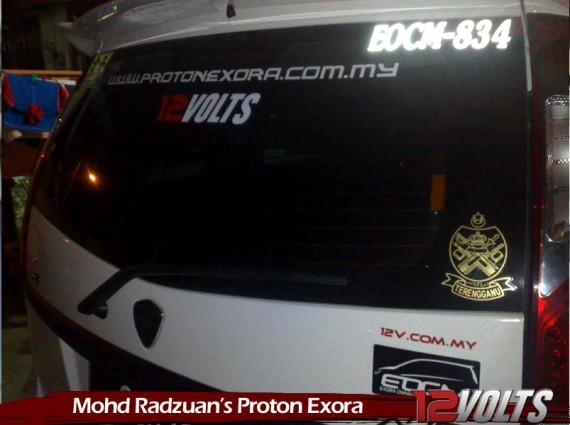 Mohd Radzuan's Proton Exora