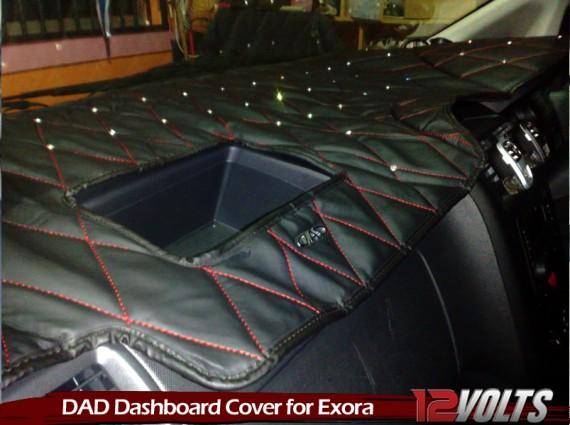 DAD Dashboard Cover in the Proton Exora