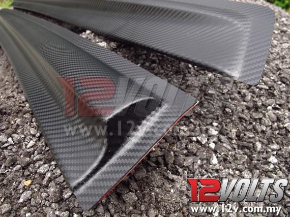 Mugen-T Door Visor (Carbon-look) for Perodua ALZA