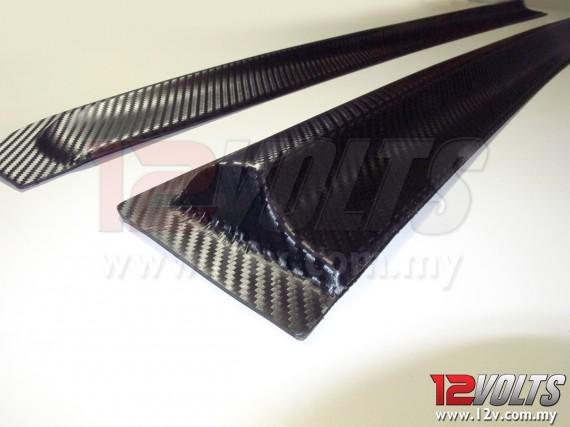 Perodua MYVI Mugen-T Door Visor (Carbon-look)