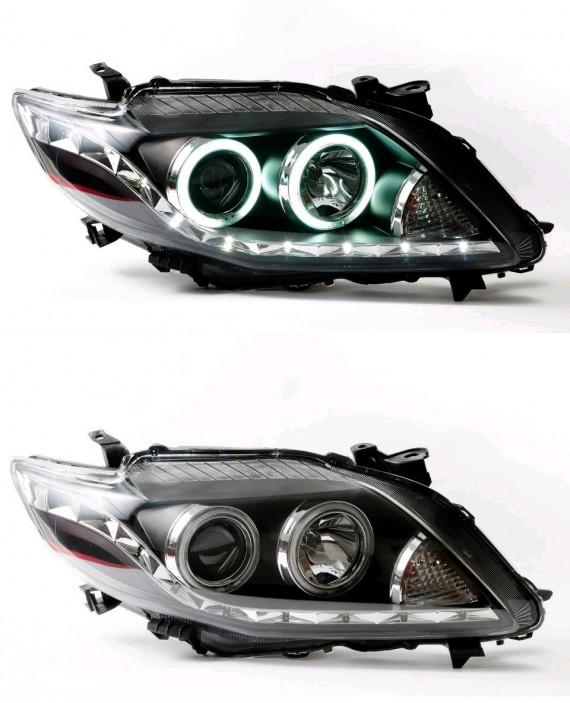 Toyota ALTIS Projector Year 2009-ON Head Lamp Angel Eye/CCFL