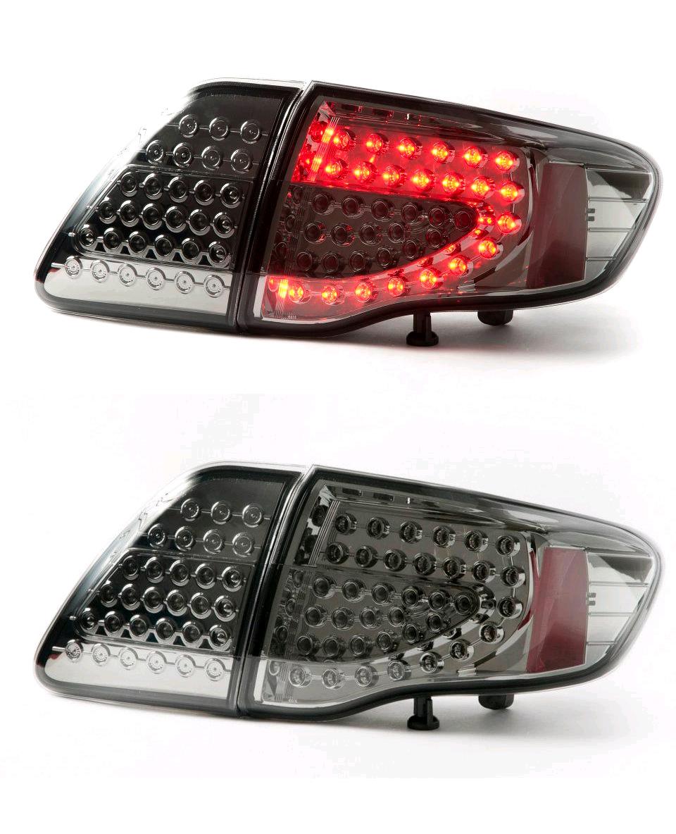 Toyota Corolla ALTIS Year 2008-10 LED TAIL LAMP (SMOKE)