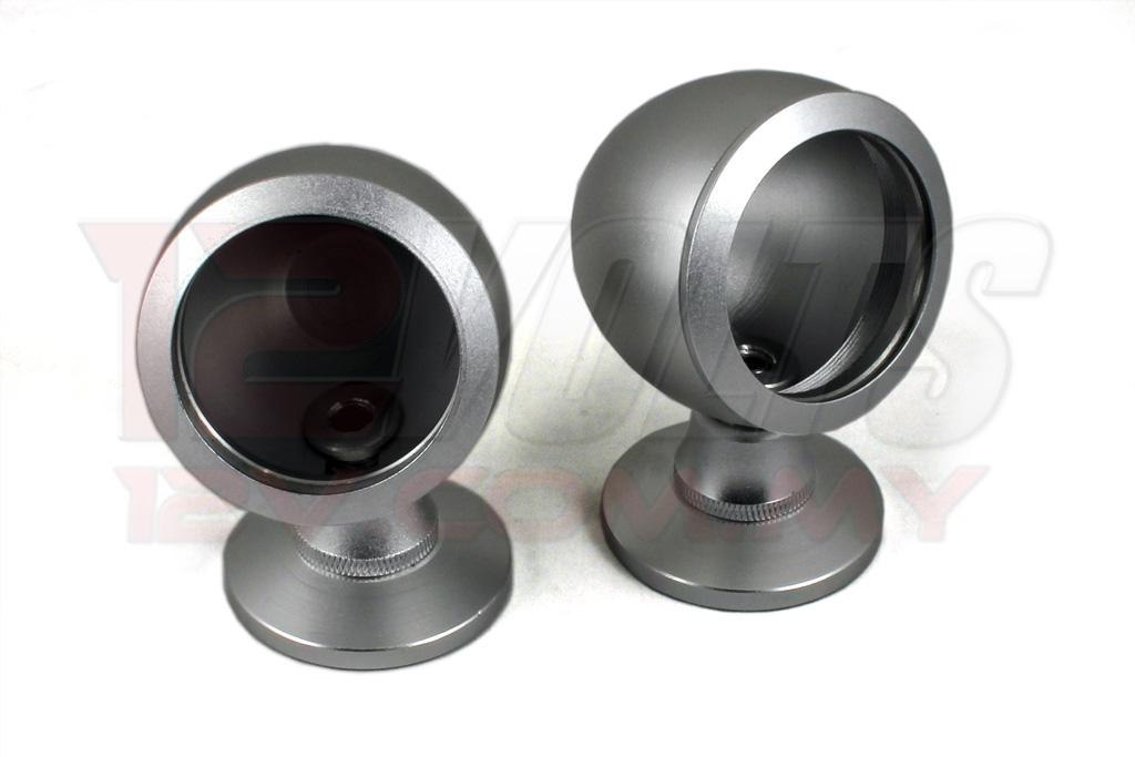25mm Aluminium Tweeter Housing (Silver)
