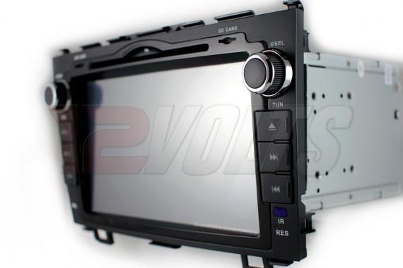 Carvox Vegas Honda CRV OEM Plug-N-Play 8 inch Right Buttons