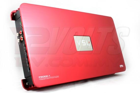 VSL P8000.1 - Mono subwoofer amplifier