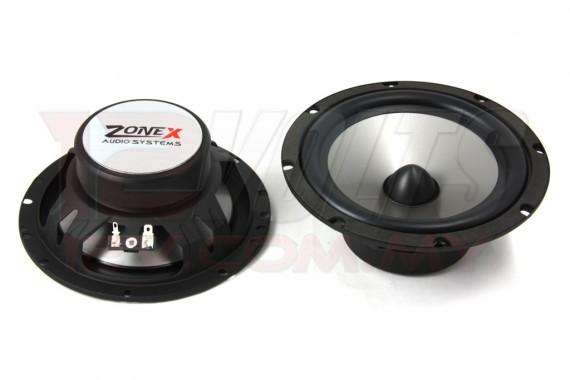 "ZONE X Z-62P 6.5"" Component Speaker Set"