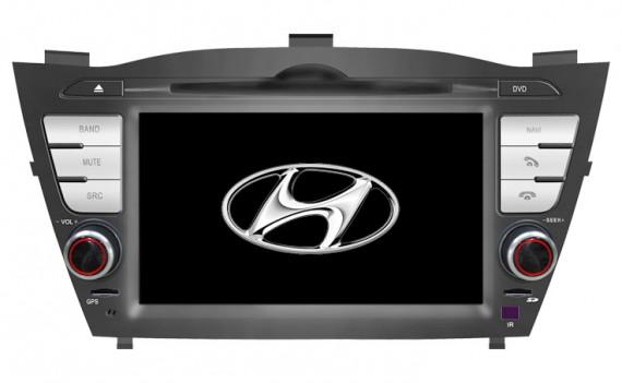 HANNS OEM Head Unit for Hyundai TUCSON IX35 (with PAPAGO GPS)
