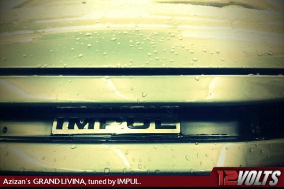 12V Member Azizan's Nissan Grand Livina, tuned by IMPUL.