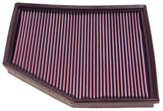 K&N Air Filter for BMW 540, 545I, 650 4.0, 4.8L V8 2004-07