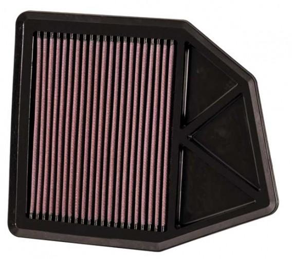 K&N Air Filter for Honda ACCORD 2.4 L4 2008-09