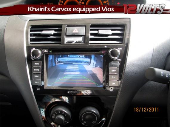 Khairils Carvox equipped Toyota Vios