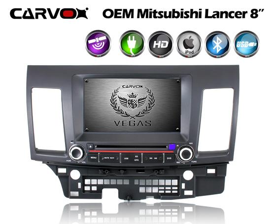 "Carvox Vegas Mitsubishi Lancer OE fit 8"" Plug N Play"