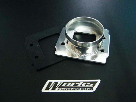"Customizable Aluminium Filter Adapter 3"" Inlet Air Filters"