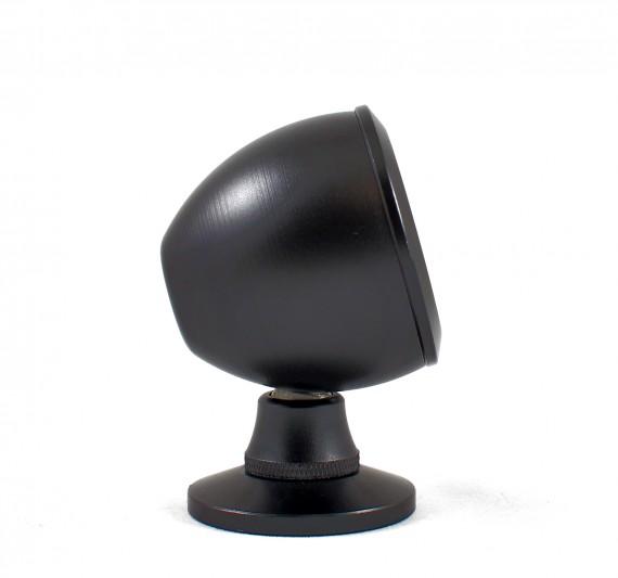 Black Aluminium Tweeter Housing for 25mm Tweeters