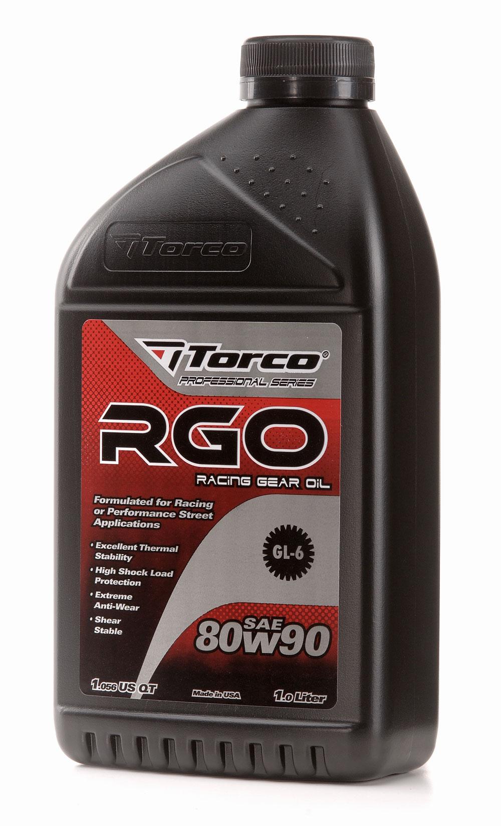 TORCO Malaysia RGO RACING GEAR OIL SAE 80W-90