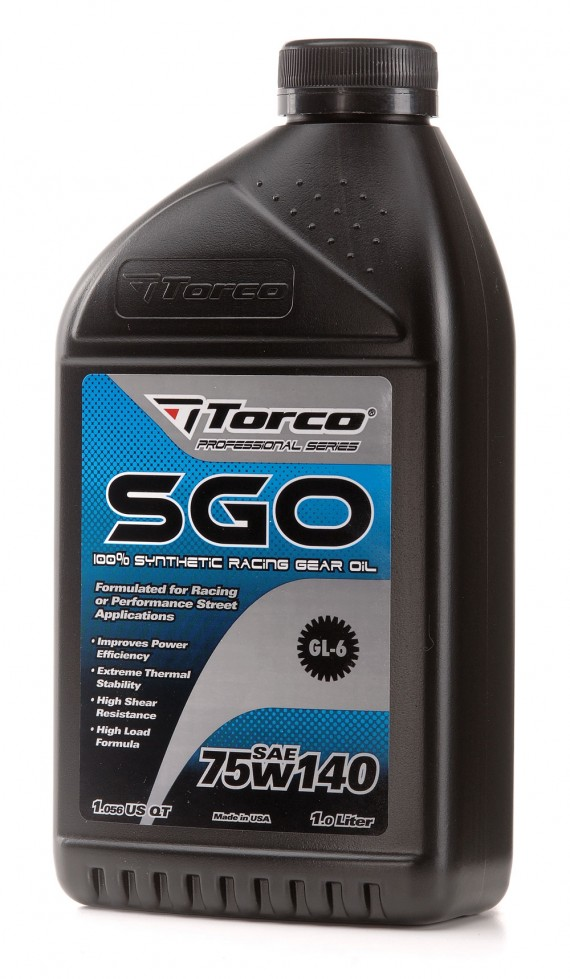 Torco Malaysia Synthetic Racing Gear Oil SGO SAE 75W-140
