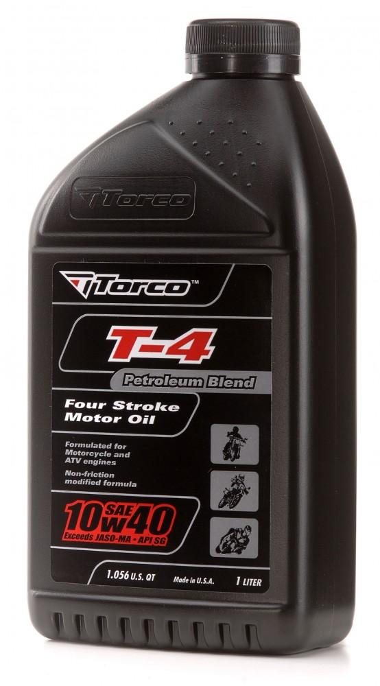 Buy Online, Worldwide Delivery, Torco Malaysia T-4 4-Stroke Oils 10w40