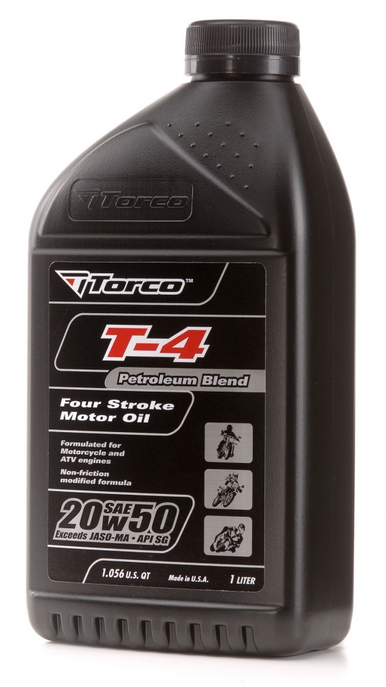 Buy Online, Worldwide Delivery Torco Malaysia T-4 4-Stroke Oils 20w50