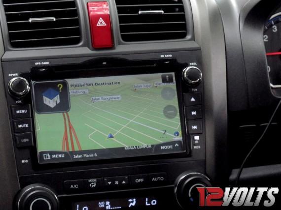 Honda CRV OEM (2011) DVD Player with PowerMap
