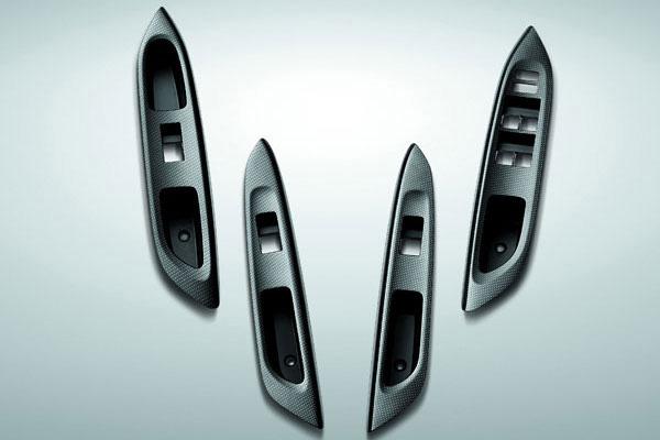 Genuine Accessories for Toyota VIOS - Kevlar Door Switch Panel