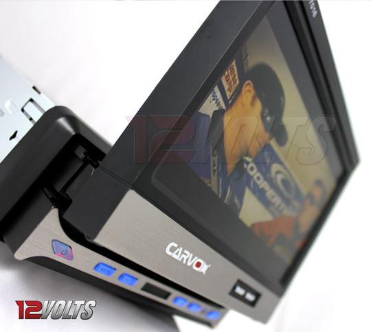 Carvox CX-7016 7 inch In-Dash Fully Motorized TFT LCD Monitor