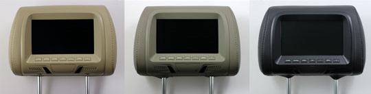 Carvox CX-707 Head Rest HD LCD Monitor