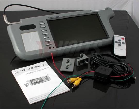 SVM-80 8 inch Sunvisor TFT LCD Monitor