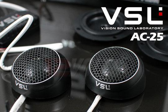 VSL AC-25 - 25MM Super Natural Silk Dome Tweeters