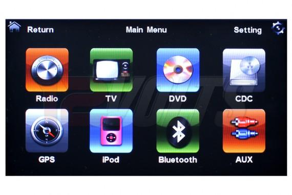 Carvox Perodua Alza OEM Plug-N-Play 8 inch DVD Player