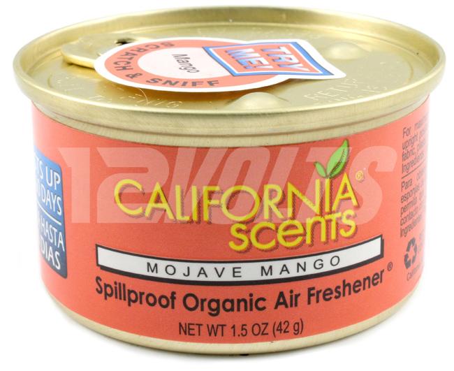 California Scents Organic Spill Proof Air Freshener - Mojave Mango, Purchase Online, Ship Worldwide