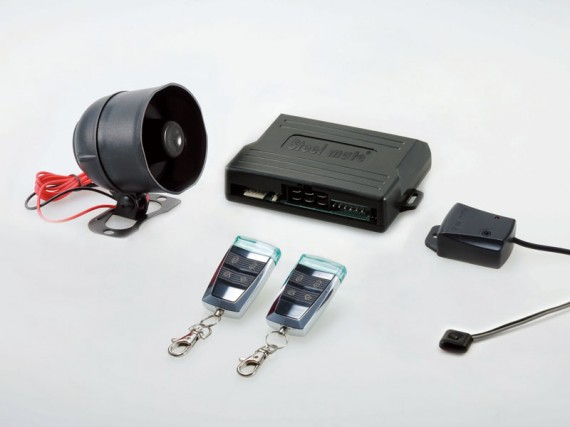 Steel Mate S6086 - Car alarm system with One-way transmitters with crystal light indicator