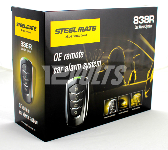 Steel Mate 838R Car alarm system with OE Design Transmitters