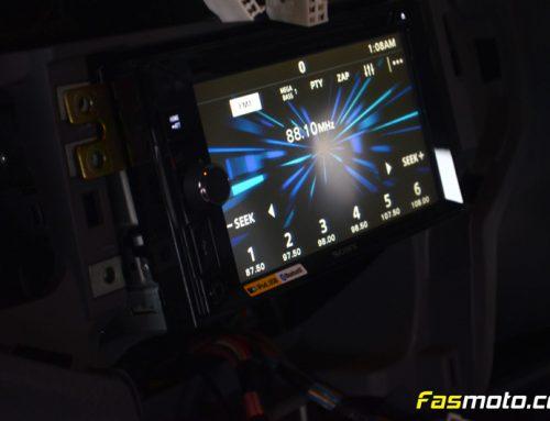 Hyundai Matrix Installing Sony XAV-W650BT with Head Rest Monitors and Rear Camera
