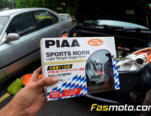 PIAA Twin Horn Install into Perodua Alza