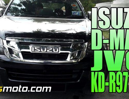 Varman's Isuzu D-Max JVC KD-R971BT Stereo Upgrade