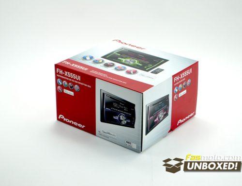 UNBOXED! Pioneer FH-X555UI
