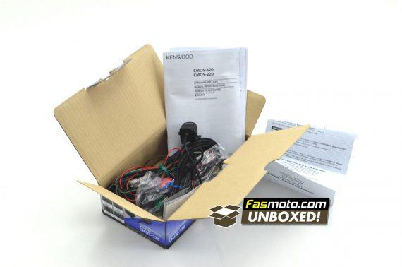 Kenwood CMOS-320 Fasmoto.com Unboxed