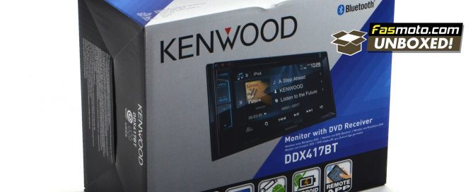 Kenwood DDX417BT Fasmoto Unboxed